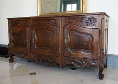 19th Century Walnut Buffet from Arles