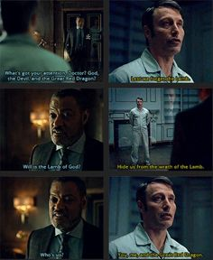 The Lamb's wrath touches everyone who errs. Hannibal 3x12 The Number of the Beast Is 666. Source: existingcharactersdiehorribly.tumblr