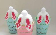 Pasqua: lavoretti per bambini della scuola primaria - Divertenti conigli pasquali