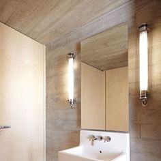 Applique Murale Elgar Argent L95cm Ip68 Sammode Normal Luminaire Design Salle De Bain Lampes