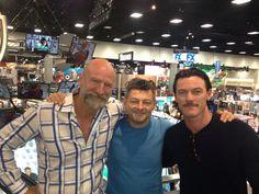 Graham, Andy and Luke