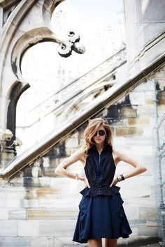 fashion, style, black, dress, girl, sunglasses,
