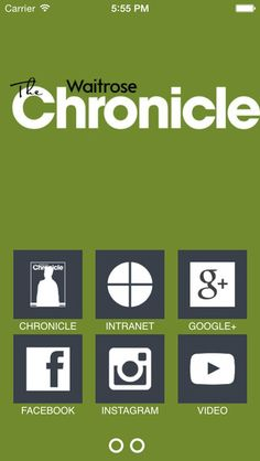 Waitrose Chronicle on the App Store on iTunes App Store, Itunes, Connection, Social Media, Facebook, Retail, Number, Google Search, Business