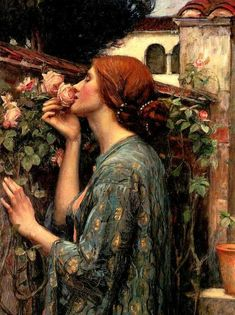 The Soul Of The Rose (John William Waterhouse)