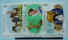 Falkland Islands Stamps 1977 Silver Jubilee SG325-327, Mint