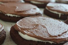 Brownie marshmallow cookies