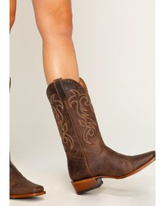 Shyanne Women's Mad Cat Western Boots - Square Toe, Brown Love these! Cowboy Boots Women, Western Boots, Brown Cowgirl Boots, Country Boots, Brown Leather Boots, Buy Shoes, Me Too Shoes, Charro, Shoe Wardrobe