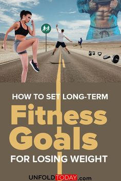Setting long-term fitness goals is very important if you're trying to lose weight because it helps you to keep your motivation up while letting you know how close you are to your ideal weight, just so you won't let discouraged after months of following diet plans and doing training sessions or gym workouts. Learn how to set long-term fitness goals properly with our guide. #fitness #fitnessgoals #fitnesstraining #buildmuscle #musclebuilding #bodybuilder Smart Fitness Goals, Fitness Workouts, Weight Loss Motivation, Fitness Motivation, Workout Log, Fitness Tips For Women, Fat Burning Workout, Yoga Routine, Trying To Lose Weight