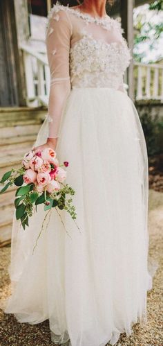 Wedding dress idea; Featured Photographer: Two Pair Photography