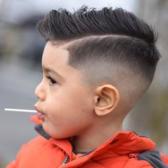 55 Cool Kids Haircuts: The Best Hairstyles For Kids To Get Guide) Kids Side Part Fade Haircut - Best Kids Haircuts: Cool Boys Hairstyles and Cute Modern Haircut Styles For Little Boys Kids Haircut Styles, Kids Fade Haircut, Cool Kids Haircuts, Boy Haircuts Short, Toddler Boy Haircuts, Little Boy Haircuts, Haircuts For Men, Haircut Men, Hairstyles Haircuts