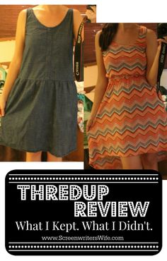 I've become a super fan of ThredUp and it's where I buy, oh, maybe 90% of my clothes from nowadays. Plus, I like to think that I'm all hip and environmentally friendly and there's the appeal of giving perfectly-good pre-owned clothes a second chance. So here's my ThredUp review.