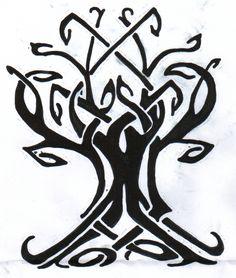 deviantART: More Like Celtic Tree Of Life Tattoo by ~Sinnersandsaints08
