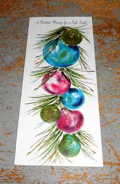 Vintage Cards Christmas Ornaments Hallmark by TheBackShak on Etsy, $2.50