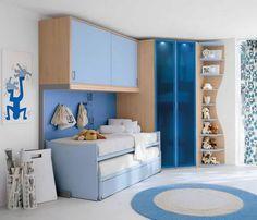 Corner shelves, Caitlin's room