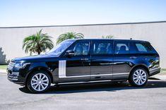 2017 Range Rover Vogue SE SUV Stretch Limousine by Procopio Special Vehicles Black Limousine, Limousine Car, Cool Sports Cars, Cool Cars, Range Rover Vogue Autobiography, Luxury Van, Sport Suv, Lux Cars, Police