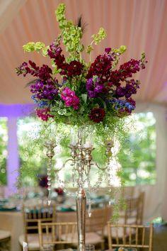 Baroque Style Enchanted Outdoor Garden Peacock Inspired Wedding | Storyboard Wedding