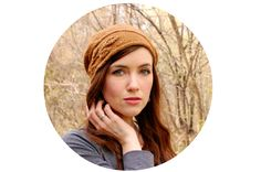 My new cloche design inspired by the Sprig pullover from Botanical Knits 2 is now available for purchase!  The Sprig Cloche is a face-framing hat design with a sprig of foliage gracefully wrapping aro
