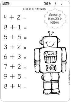 Preschool Learning Activities, Preschool Activities, Kids Learning, 1st Grade Worksheets, Kindergarten Math Worksheets, Abacus Math, Learning Numbers, Math For Kids, Primary School