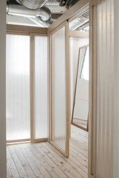 Our Legacy Store ides+sgn in Gothenburg by Arrhov Frick Arkitektkontor 7 Arch Interior, Interior Design, Fashion Retail Interior, Exposed Ceilings, Office Interiors, Retail Design, Windows And Doors, Furniture Design, Indoor