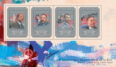 Post stamp Guinea GU 14606 a anniversary of Martin Luther King Jr.'s Nobel Prize Acceptance Speech Acceptance Speech, Nobel Prize, King Jr, Martin Luther King, 50th Anniversary, Postage Stamps, Movies, Movie Posters, King Martin Luther