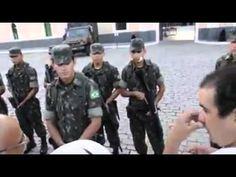 População pedindo intervenção militar em Fortaleza na 10ª Região Militar