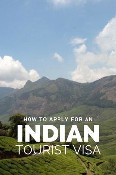 How to apply for an Indian Tourist Visa
