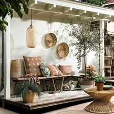 We're all about sweet outdoor settings ✨