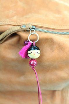 s Kids Jewelry, Jewelry Crafts, Handmade Jewelry, Accessoires Mini, Moldes Para Baby Shower, Dress Up Dolls, Art N Craft, Tassel Jewelry, Kokeshi Dolls