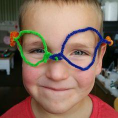 Noud zijn nieuwe bril. Mijn kleine #brilsmurf