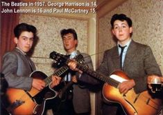 The Beatles  (I think they were The Quarry Men back then.  Had a couple other names, too, before becoming The Beatles.)