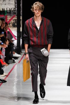 Robert Geller unveiled his Spring/Summer 2017collectionduring New York Fashion Week: Men's.