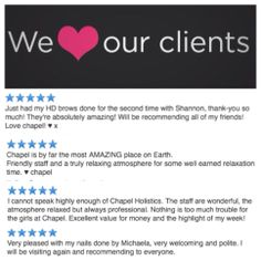 More lovely feedback from our fabulous clients :) x x x