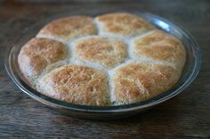 Gluten-Free/Grain-free Dinner Rolls (coconut oil can be used in place of butter to make dairy-free)