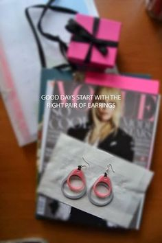 Laser Cut Design Laboratory: New earrings on the block