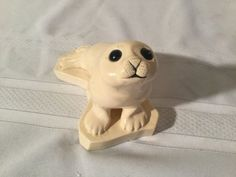 Cook Company Seal Art Sculpture Made In USA Adorable Signed Cook
