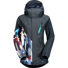 Volcom Fawns Insulated Women 's Jacket 2015 - Nickel gebürstet - Carla Ski Gear, Snowboarding Gear, Ski And Snowboard, Beatles, Winter Hiking, Winter Fun, Oxford Fabric, Blazer, Hooded Jacket