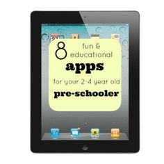 I Love You More Than Carrots: 8 Fun & Educational Apps for your Pre-Schooler