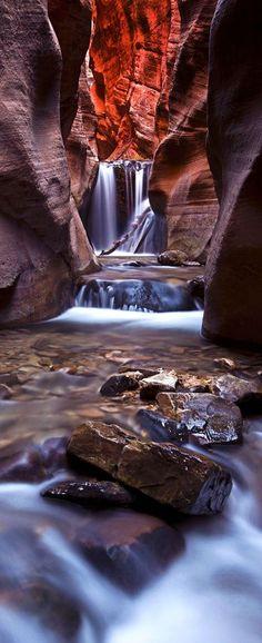 Upper Kanarra Falls, Kanarraville, Utah