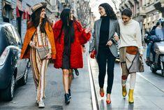WHITE, Milan Trade show street style  #fashion #womensfashion #milan #streetstyle  www.VLADMONTHE.com