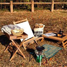 【第7回】viva camp!! . 今日は天気がいいし時間もあるのでコンパクトにまとめたデイキャンプスタイルで昼ごはんにしまーす . . ムダな言葉はいらん…