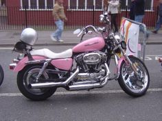 No words of inspiration here, but it's a pink motorcycle. I don't get much happier than that!