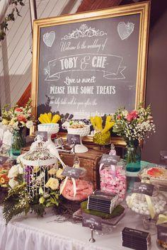 "Photo 1 of 43: Vintage Garden / Wedding ""Vintage Garden Wedding Lolly Table"" | Catch My Party"