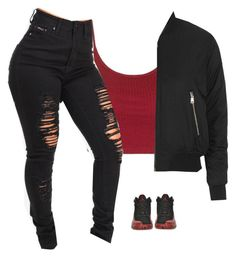 """""""Untitled #823"""" by prettygirlnunu ❤ liked on Polyvore featuring Retrò and Topshop"""
