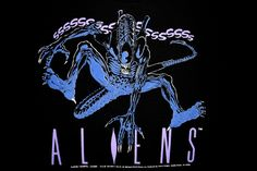 Deadstock 1992 ALIENS 80s space horror movie t-shirt Vintage predator 90s nos XL #FruitoftheLoom #GraphicTee