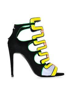 Kaliste Multicolor Suede Sandal from FORZIERI Italia