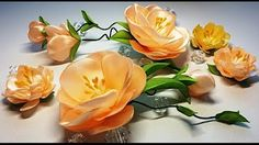 Hand Embroidery - Ribbon Work    Lavender flower    Floral Embroidery - YouTube