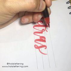 Si apenas te inicias en el lettering, acá verás ideas fáciles y creativas para hacer tus primeras letras lindas ✅ Tips básicos ✅ Ideas ✅ para pincipiantes Bullet Journal School, Ideas Fáciles, Instagram, How To Make Letters, How To Make, Drawing Letters, Lettering Art, Letter Stencils