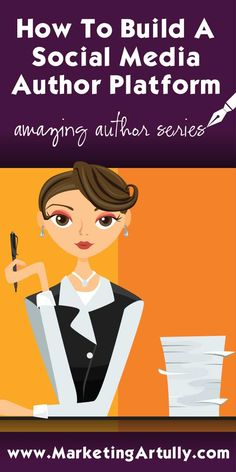You KNOW you need an author platform to sell more books, but how the heck do you get started? Find out how to build a social media empire so you can attract more readers and increase your book sales! Fiction Writing, Writing Advice, Writing Resources, Writing Help, Writing A Book, Writing Prompts, Persuasive Essays, Sell Your Books, A Writer's Life