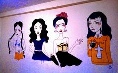 La Malinche, María Félix, Frida Kahlo y Sor Juana