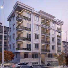 Architecture Building Design, Home Building Design, Brick Architecture, Facade Design, Residential Architecture, Home Design, Exterior Design, Townhouse Exterior, Modern Apartment Design